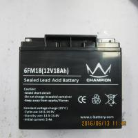 China F17 / F18 Sealed Deep Cycle Marine Battery , Black Agm Deep Cycle Battery on sale