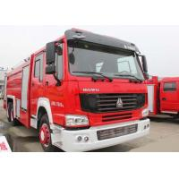 Buy cheap 15CBM LHD 290HP Fire Fighting Truck , SINOTRUK HOWO Tanker Fire Truck from wholesalers