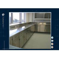 Buy cheap MDF Cabinet Floor Mounted Science Lab Furniture Free Design Dental School from wholesalers