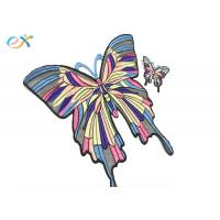 Buy cheap Diy Custom Large Sew On Embroidery Butterfly Patches Pattern For T - Shirt from wholesalers