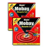 Buy cheap Mobay Anti Mosquito Insect Bug Repellent Protection Scent Lavender Coils from wholesalers