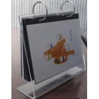 Buy cheap High Quality Fashion Shape Acrylic Calendar Holder from wholesalers