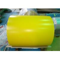 Buy cheap RAL Color Coated Aluminum Coil For Building , Cold Rolled Steel Strips from wholesalers