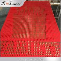 Buy cheap Australia standard Architectural design perforated aluminum screen from wholesalers