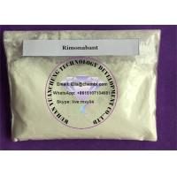 Buy cheap Supply Weight Loss APIs Raw Powder Rimonabant For Treat Obesity CAS 168273-06-1 from wholesalers