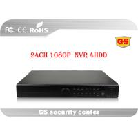 Buy cheap 24 Channel NVR Network Video Recorder 1080P For Realtime Recording / Playback from wholesalers