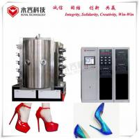 Buy cheap ABS Shoe Heels PVD Chrome Plating Equipment / Vacuum Plating Machine Wear Resistance from wholesalers