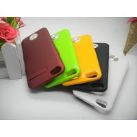 Buy cheap Polymer-Li Battery IPhone 5 External Battery Case Colorful 2000mAh Safety from wholesalers