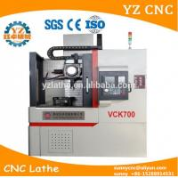 Buy cheap Vertical High Speed High Quality CNC Lathe Turning Machine With Synte controller from wholesalers