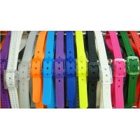 Buy cheap Colorful Perfumed TPE Rubber Unisex Golf Silicone Belts from wholesalers