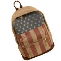 Buy cheap Printed Chamois Leather Kids Sports Backpack  / Travelling Backpacks For Girls product