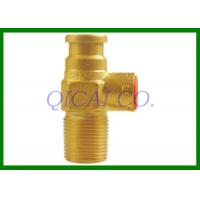Buy cheap 1/2 Inlet Thread Gas Tank Fittings , 3KGS Indonisia LPG Small Cylinder Valve from wholesalers