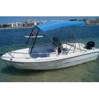 Double seats fiberglass fishing boats width 6 person for 4 person fishing boat