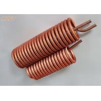 Buy cheap Customized Flexible Copper Tube Coil in Domestic Water Boilers from wholesalers