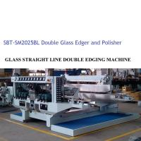 Buy cheap Glass Double Edger Glass Processing Equipment / Glass Processing Plant from wholesalers