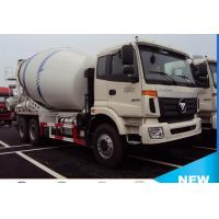 Buy cheap foton Auman 6*4 8cubic meters concrete mixer truck for sale, 2017s new best price 8m3 foton truck mounted mixer truck from wholesalers