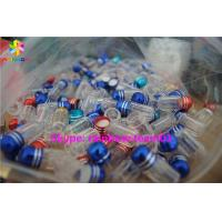 Buy cheap SGS Paper Box Packaging Clear Plastic Sex Pill Bottle , Custom Service Provided from wholesalers