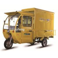 Buy cheap Electric Powered Custom Food Trucks / Foot Brake Electric Food Car Tricycle from wholesalers