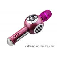 Buy cheap Durable Cordless Karaoke Microphone Bluetooth Handheld With Double Speaker from wholesalers
