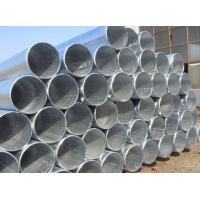 Buy cheap Thick Wall 45# Galvanized Steel Pipe ASTM A53 , Zinc Coated ERW Welded Pipe from wholesalers