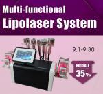 Buy cheap Multifunctional Lipolaser Ultrasonic Cavitation RF Body Slimming Beauty Machine from wholesalers