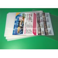 A4 Laminating Pouches 80 Micron / 100 Micron , PET Laminating Film Pouches