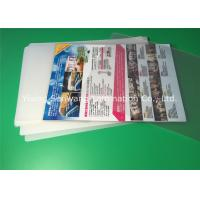 Buy cheap A4 Laminating Pouches 80 Micron / 100 Micron , PET Laminating Film Pouches from Wholesalers
