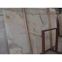 Buy cheap White Marble Onyx Stone Slabs tile for commercial and residential construction from wholesalers