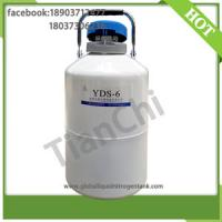 Buy cheap wholesale TianChi 6L aluminum cryogenic liquid nitrogen tank price in RO product