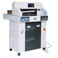 Buy cheap 380.0kgs Hydraulic Computerized Paper Cutter 480mm Table Depth 480HP from wholesalers