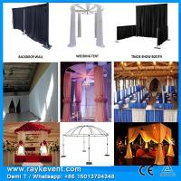Buy cheap Singapore Events decoration/ Drapery hardware pipe and drape systems from wholesalers