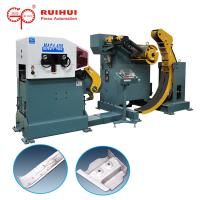 Buy cheap 3 In 1 Combined Metal Sheet Straightening Machine For Steel Coil Flattening from wholesalers