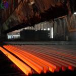 Buy cheap Industrial Railway Track Material Steel , Rail Height 140mm Railway Track Metal from wholesalers