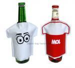 Single Bottle Wine Cooler Bag Cartoons PVC Anti Caustic Bottle Cooler Pack
