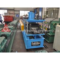 Buy cheap Metal Roofing W Purlin Roll Forming Machine , Guide Rail Cold Roll Forming Line from wholesalers