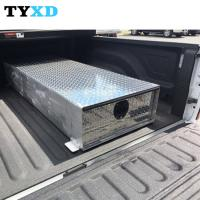 Buy cheap Aluminum Diamond Plate Material Under Bed Truck Tool Box With Weather Tight Design from wholesalers
