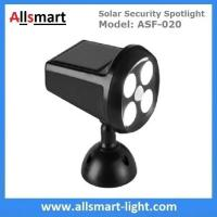 Buy cheap Solar Security Spotlight with Motion Sensor 4LED 350LM Wireless Battery Powered Simulation Camera Light from wholesalers