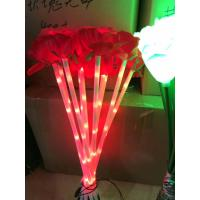 Buy cheap Outdoor ROSE flower LED Fairy String Lights Christmas Party Wedding Holiday Decoration  light from wholesalers