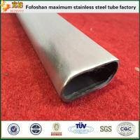 Buy cheap 304 GB Standard Flat Stainless Steel Oval Tube Stainless Steel Special Tube/Pipe product