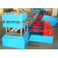 Buy cheap Bearing Steel Guardrail Plate Cold Roll Forming Machine 16M Length Mold Cutting product