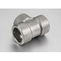 Buy cheap 2'' High Pressure Socket Weld Pipe Fittings , Socket Weld Tee from wholesalers