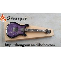 Buy cheap ShengQue PRS Electric Guitar Purple Color Guitar With Quilted Maple Top from wholesalers