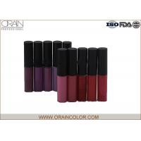 Dark Color Style All Natural Lip Gloss Set , Fresh Moisturizing Lip Gloss