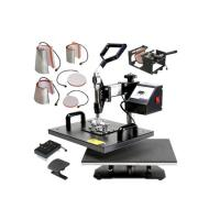 Buy cheap JW-8IN1 multi-function sublimation heat press machine from wholesalers
