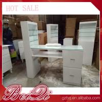 Buy cheap Modern manicure table vacuum and nail salon furniture cheap nail table white from wholesalers