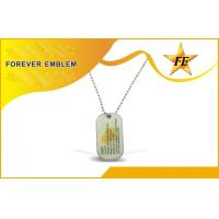 Buy cheap Printed Personalized Dog Tags Laser Engraved Logo Metal For Promotion from wholesalers