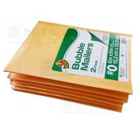 Buy cheap Retail Shrink Pack Kraft Bubble Mailer 2pk #0 With Custom Label from wholesalers