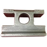 Buy cheap Railway Accessory Ductile Cast Iron Tile Plate Rail Shoulder Baffle Plate from wholesalers