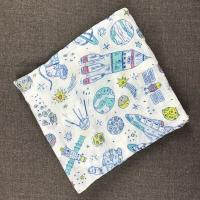 Buy cheap Large Muslin Multifunctional and Plush Floral Swaddle Baby Blanket from wholesalers