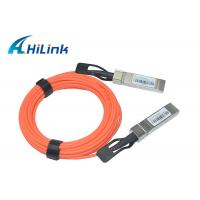 Buy cheap SFP-10G-AOC 1M 2M 5M Active Optical Cable 10G SFP+ to SFP+ OEM Welcomed product